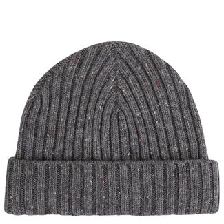Mr. Crevan Donegal Wool Beanie Grey