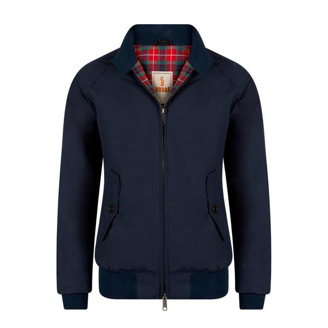Baracuta G9 Harrington Dunkelblau