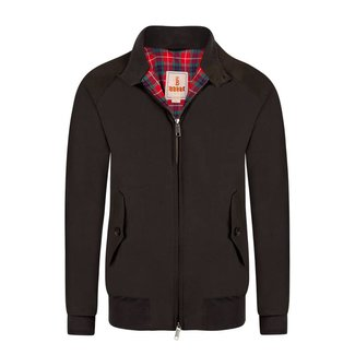 Baracuta G9 Harrington Faded Black