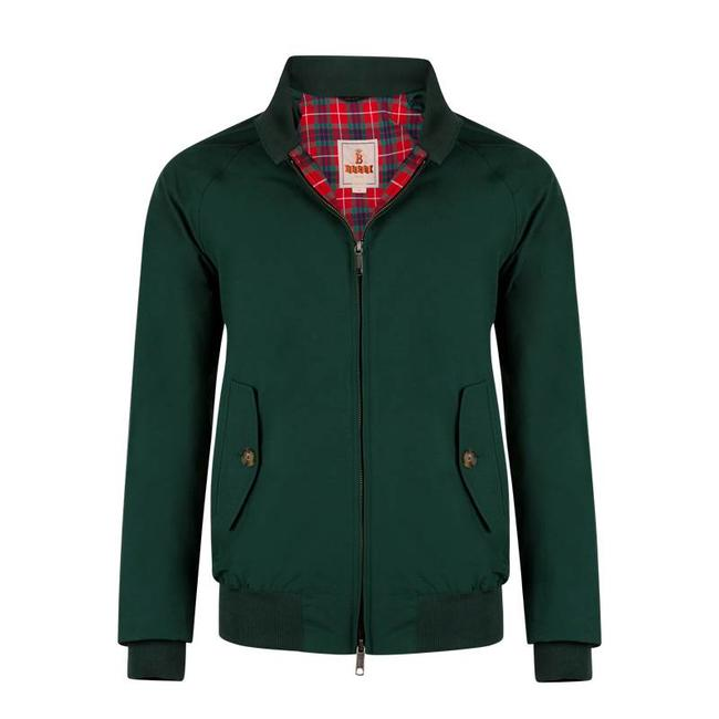 Baracuta G9 Harrington Racing Green