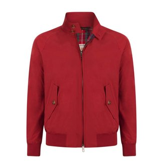 Baracuta G9 Harrington Dark Red