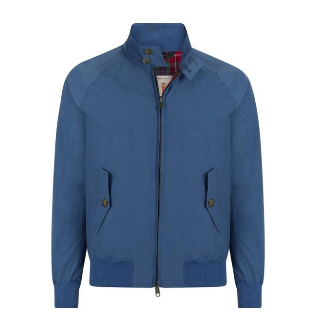 Baracuta G9 Harrington Blauw