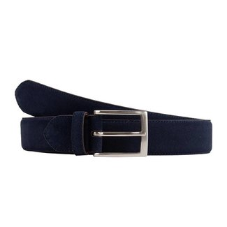 Leyva Suede Belt Navy