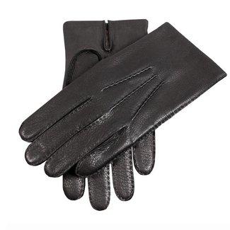Dents Leren Handschoenen Zwart Cambrigde