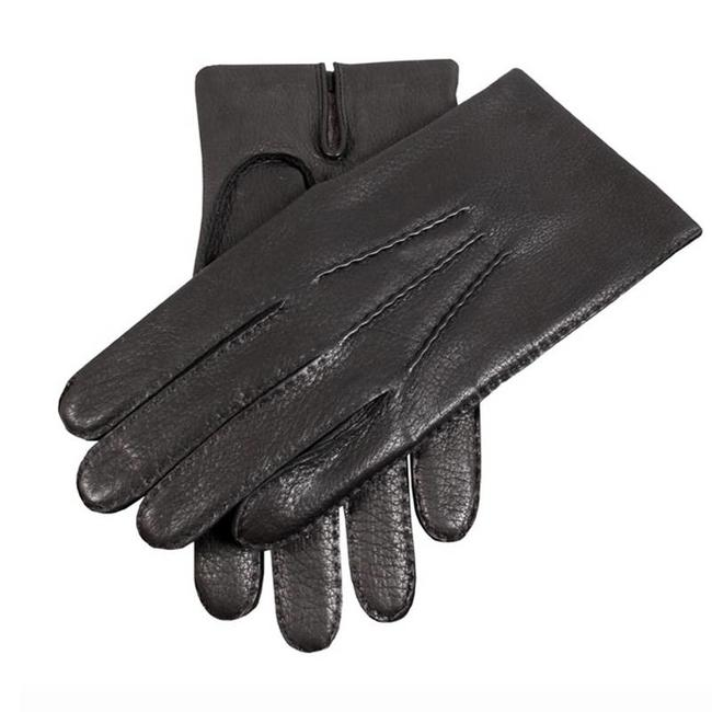 Dents Leder Handschuhe Schwarz Cambridge