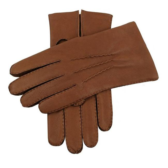 Dents Leather Gloves Havana Brown Cambridge