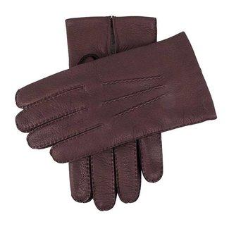 Dents Leather Gloves Claret Cambridge