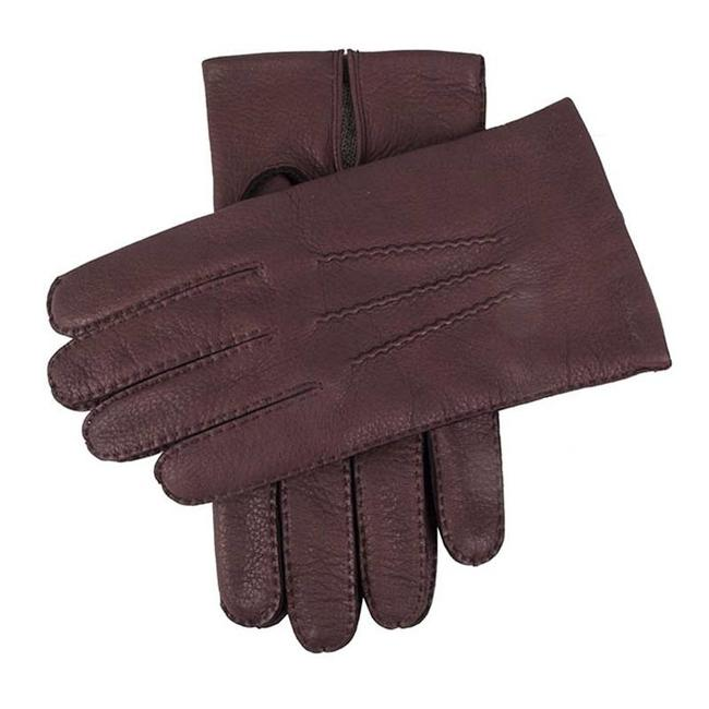 Dents Leather Gloves Claret Cambridge