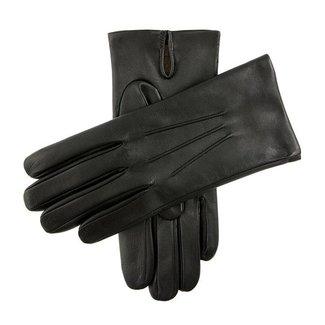 Dents Leder Handschuhe Schwarz Bath