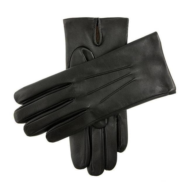 Dents Leren Handschoenen Zwart Bath