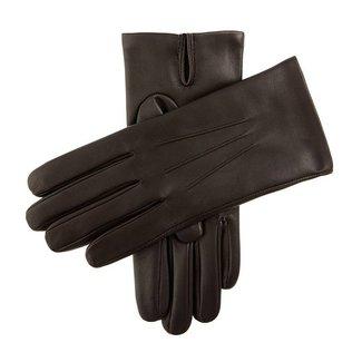Dents Leder Handschuhe Dunkelbraun Bath