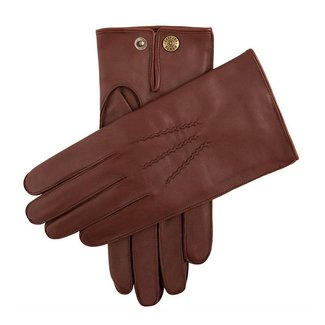 Dents Leder Handschuhe Braun Burford
