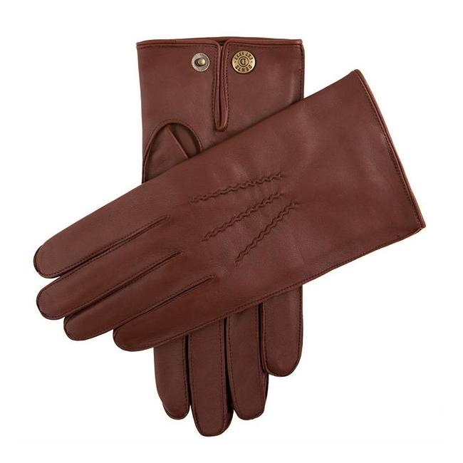 Dents Leather Gloves English Tan Burford