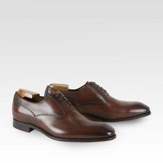 Carlos Santos Semi Wholecut Shoes Guimarães Patina