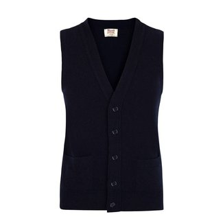 William Lockie Waist Coat Navy Gordon Geelong