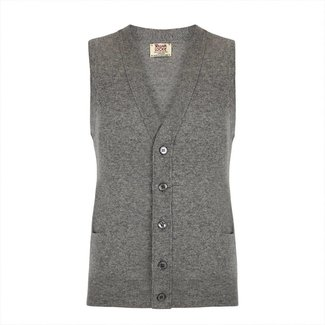 William Lockie Waist Coat Grey Gordon Geelong