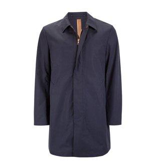 Private White V.C. Raincoat Unlined Ventile® Mac Navy