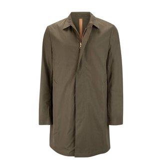 Private White V.C. Raincoat Unlined Ventile® Mac Olive