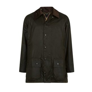 Barbour Beaufort Wax Jas Olijfgroen