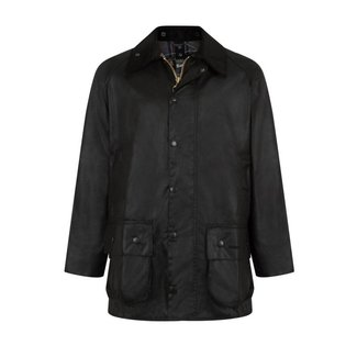 Barbour Beaufort Wax Jacket Black