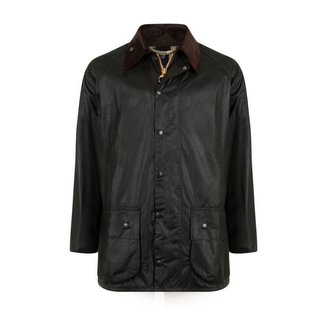 Barbour Beaufort Wax Jas Sage Donkergroen
