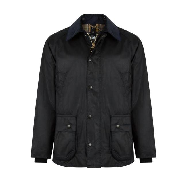 Barbour Bedale Wax Jas Navy