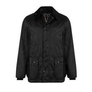 Barbour Bedale Wax Jas Zwart