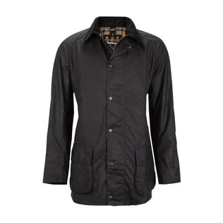 Barbour Bristol Wax Jas Navy