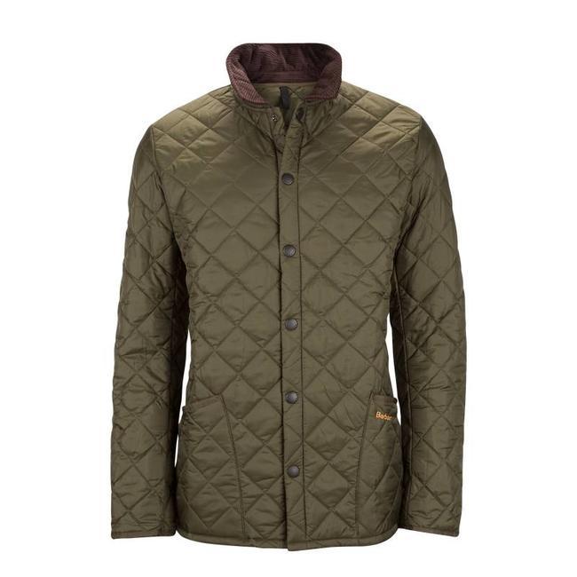 Barbour Heritage Liddesdale Quilt Jacket Olive