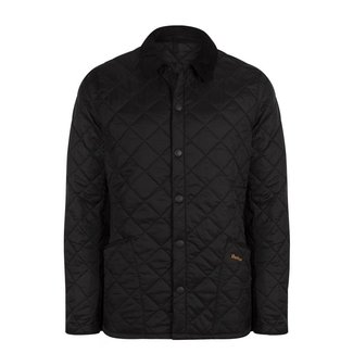 Barbour Heritage Liddesdale Quilt Jacket Black