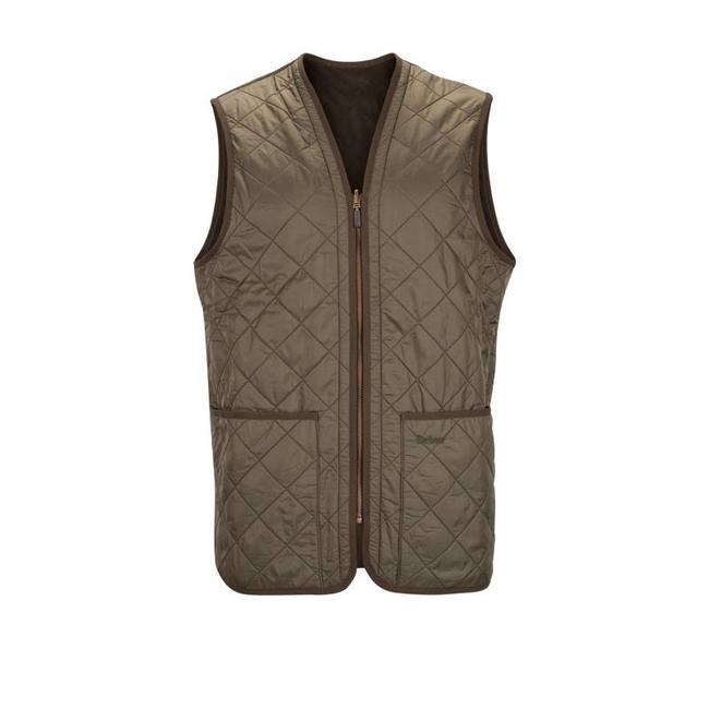 Barbour Polarquilt Waistcoat / Zip-In Liner Oliv