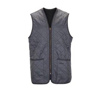Barbour Waistcoat Polarquilt / Zip-In Liner Navy
