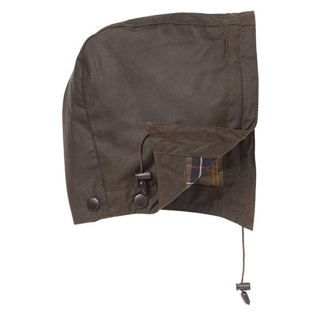 Barbour Hood Classic Sylkoil Olive