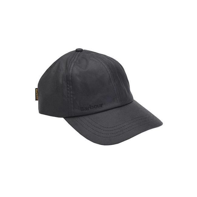 Barbour Wax Sport Cap Black