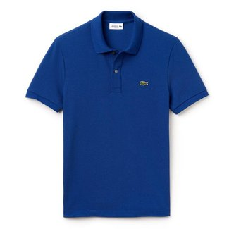Lacoste Polo Blauw Slim Fit