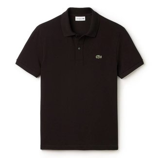 Lacoste Polo Schwarz Slim Fit