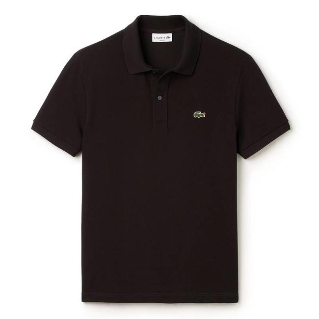 360f4c851fe Lacoste Polo Shirt Black Slim Fit - Quality Shop
