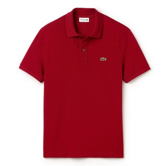 Lacoste Polo Bordeaux Slim Fit