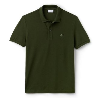Lacoste Polo Dunkelgrün Slim Fit