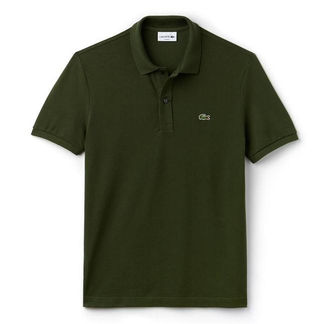 Lacoste Polo Donkergroen Slim Fit