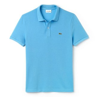 Lacoste Polo Lichtblauw Slim Fit
