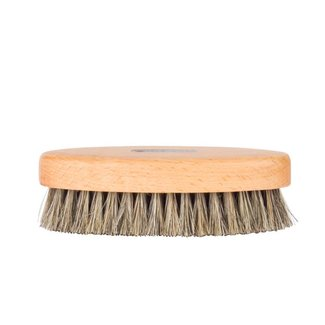 Saphir Beauté du Cuir Oval Shoe Brush White