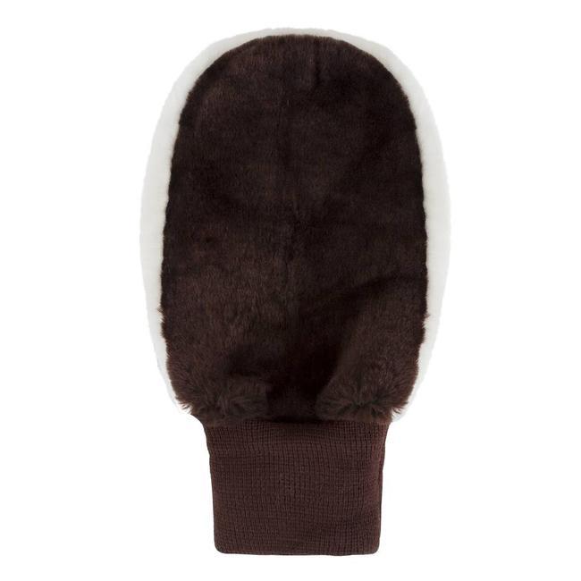 Lambswool Shoe Polishing Mitt