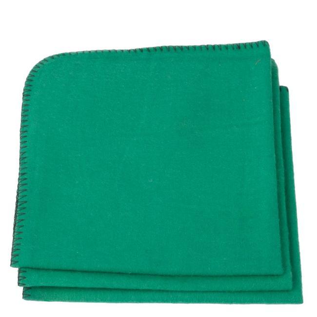 Baumwoll-Schuhputztuch Grün
