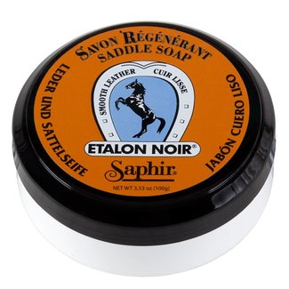 Saphir Beauté du Cuir Etalon Noir Sattelseife 100ml