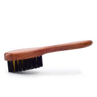 Famaco Bubinga Brass Suede Shoe Brush