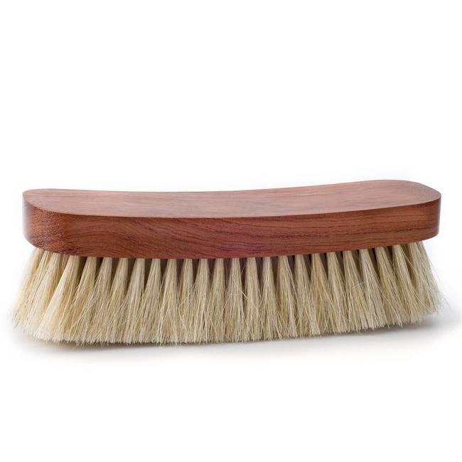 Famaco Bubinga Shoe Brush White 21cm