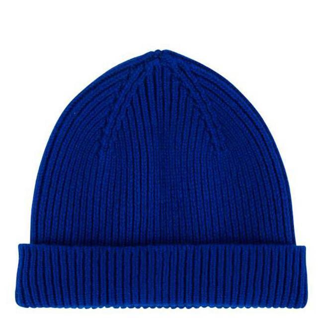 Robert Mackie Geelong Wolle Mütze Blau