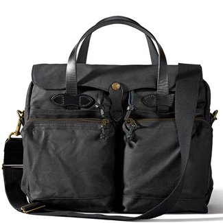 Filson 24-hour Tin Cloth Briefcase 11070140 Schwarz