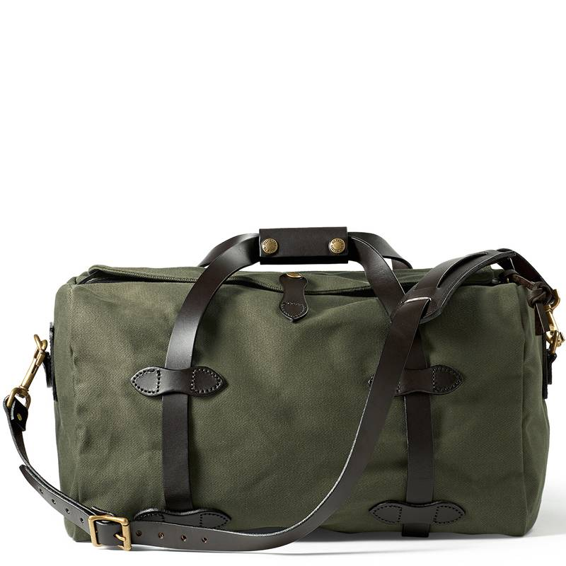 5ca9a175e7a8 Filson Small Duffle Bag 11070220 Otter Green - Quality Shop